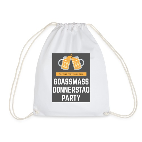 Goassmassdonnerstag Party - Turnbeutel