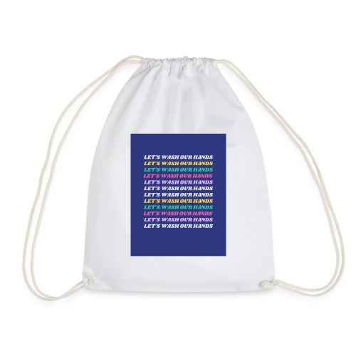 Wash our hands campaign - Drawstring Bag