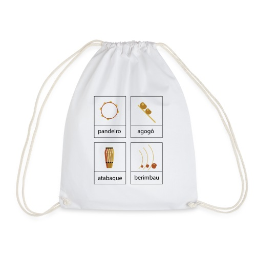 In-stru-men-tos - Drawstring Bag