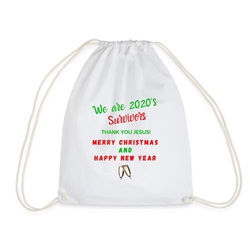 We are 2020 Survivors Merry Christmas - Sac de sport léger