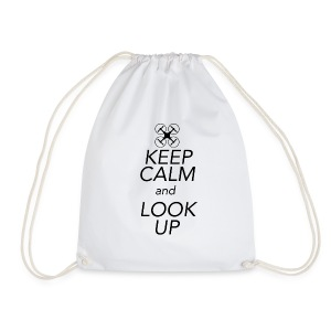 Keep Calm and Look Up - Gymtas