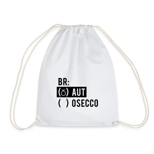 Vorschau: Braut Brosecco - Turnbeutel