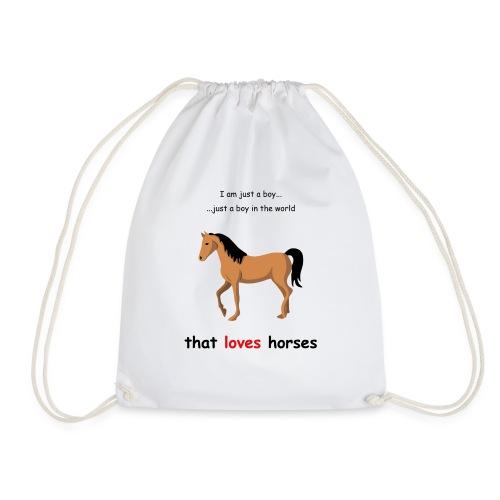 Horse lover - Turnbeutel