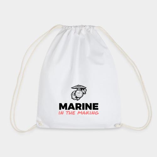 Marine in the Making - Drawstring Bag