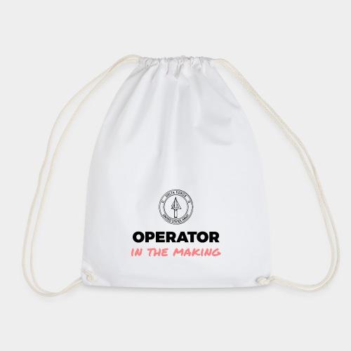 Operator in the making. - Drawstring Bag