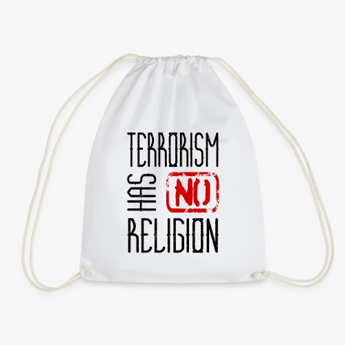 Terrorism has no religion - Turnbeutel