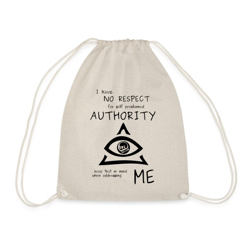 authority - Drawstring Bag