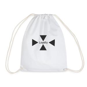 Loyalty logo big - Drawstring Bag