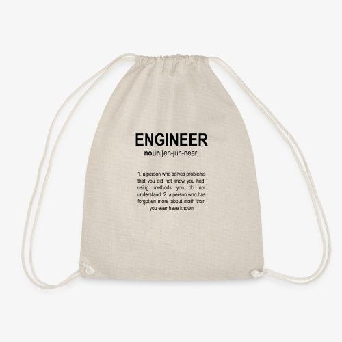Engineer Def. 2 Black - Sac de sport léger