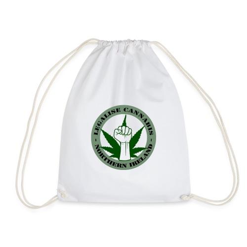 Legalise Cannabis - Northern Ireland - Drawstring Bag
