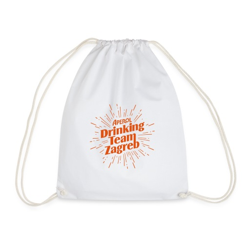Aperol Drinking Team Zagreb - Drawstring Bag