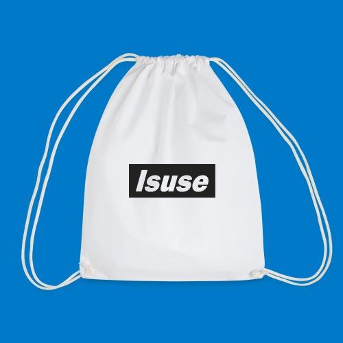 box logo black isuse - Mochila saco