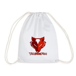 The Red Fox - Drawstring Bag