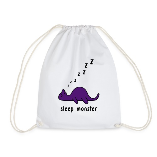 Sleep Monster - Drawstring Bag