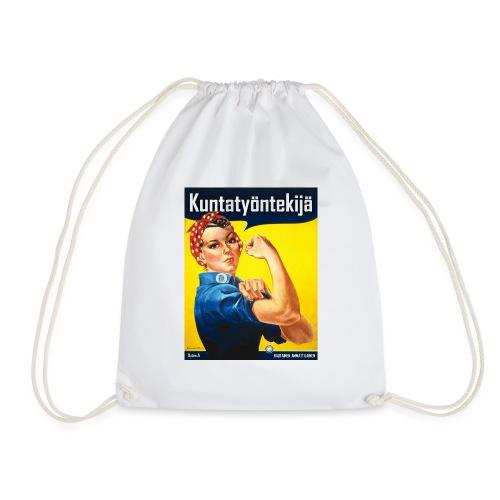 Kuntatyöntekijä - Naisten t-paita - Jumppakassi
