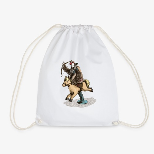 Partridge Rider - Drawstring Bag