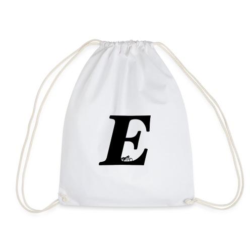 E alphabet - Drawstring Bag