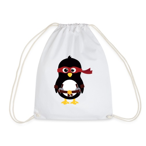 Pingouin ninja Raphaelo - Sac de sport léger