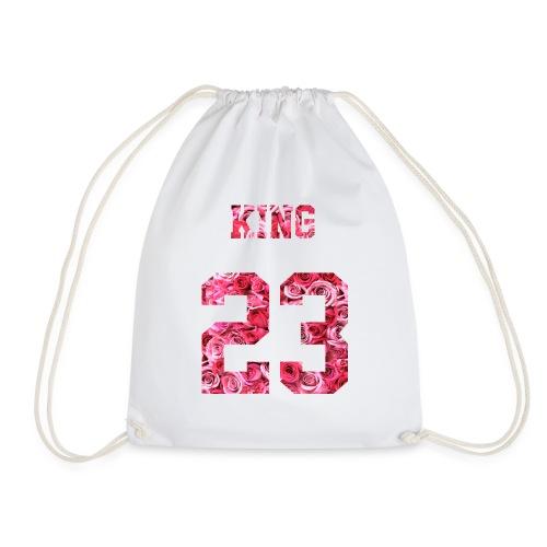 KING 23 PINK ROSES.png - Turnbeutel