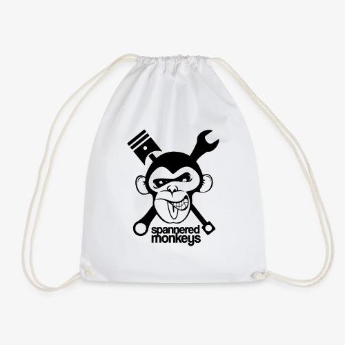 spanneredmonkeys-monkeyface - Drawstring Bag