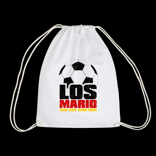 Fußball - Los Mario, hau das Ding rein (3c - Turnbeutel