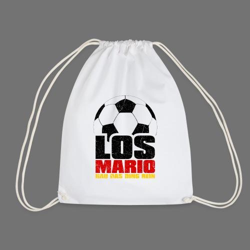 Football - Go Mario, hau moving the thing in (3c - Drawstring Bag