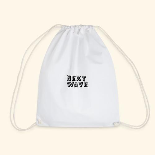 Small 'Next Wave' - Drawstring Bag