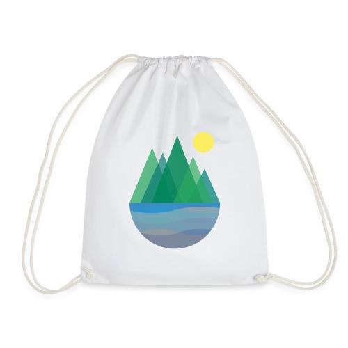 The Lakes - Drawstring Bag