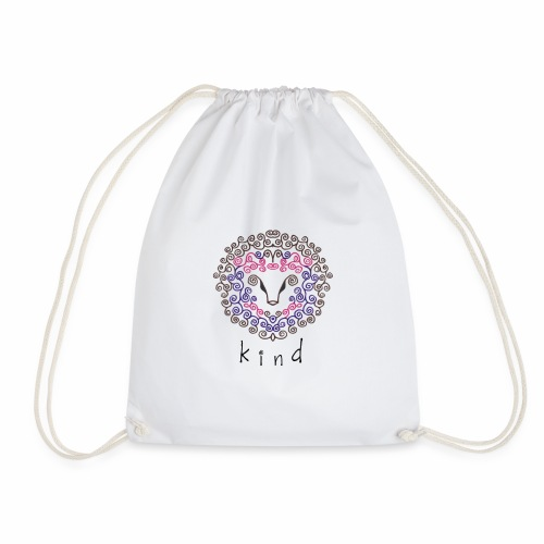 kind Is For All Kind - Drawstring Bag