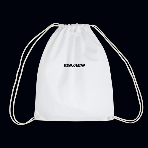 BENJAMIN tee's Available whenever - Drawstring Bag