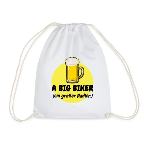 A big biker - Turnbeutel