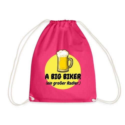 A big biker - Turnbeutel