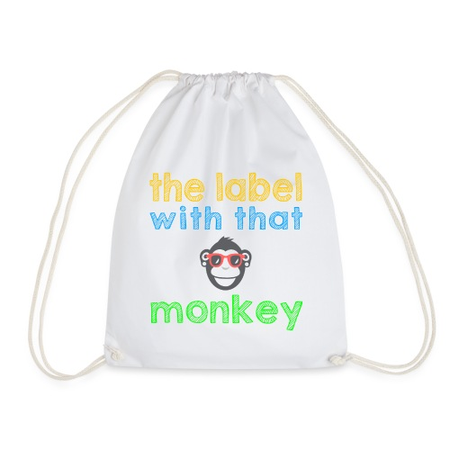 the label with that monkey - Turnbeutel