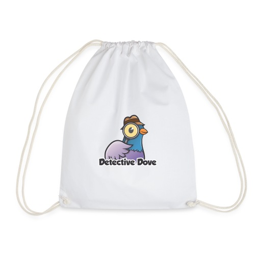 Detective Dove Logo - Turnbeutel