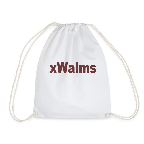 xWalms text Större - Gymnastikpåse