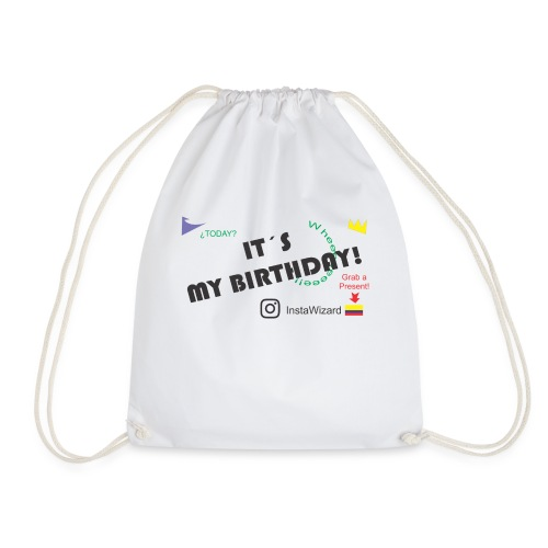 Birthday - Insta Wizard - Drawstring Bag