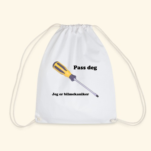Pass deg jeg er bilmekaniker - Gymbag