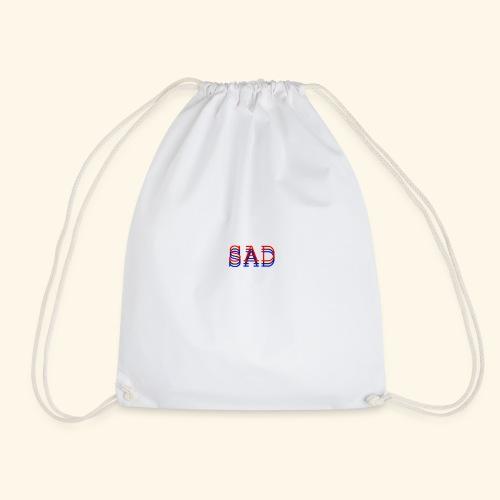 sad - Drawstring Bag