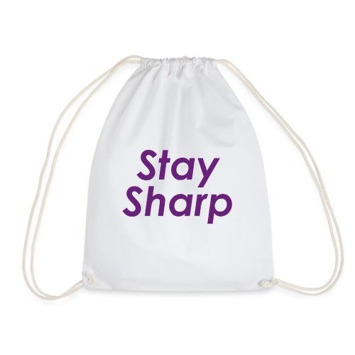 Stay Sharp - Sacca sportiva