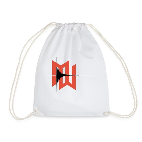 Mild West's Wave Form Tee - Drawstring Bag