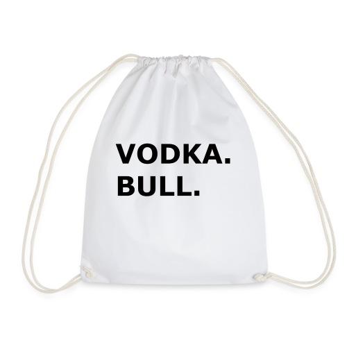 Vodka Bull Schwarz - Turnbeutel