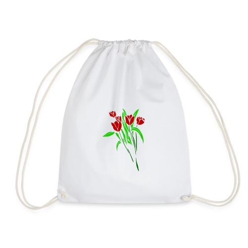 arts of flower - Drawstring Bag