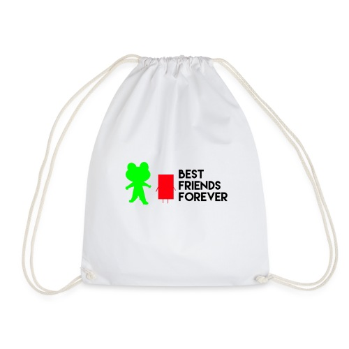 Best friends forever - Drawstring Bag
