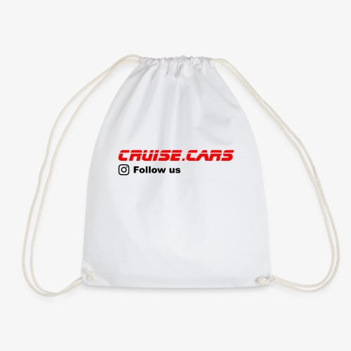 Cruise.CarsSlogan - Turnbeutel