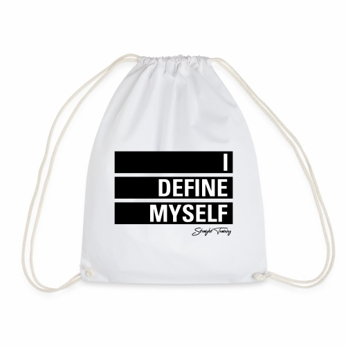 I define myself - Turnbeutel