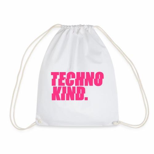 Techno Kind Rave Kultur Berlin Vinyl Progressive - Turnbeutel