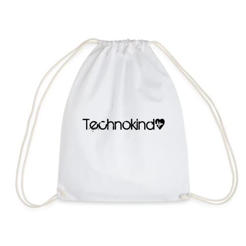 TechnokindBlack png - Turnbeutel