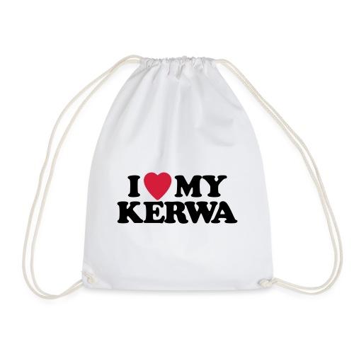 I Love My Kerwa - Turnbeutel