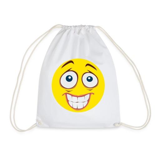 Gekke Smiley - Mannen - Gymtas
