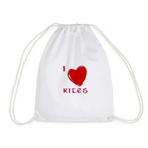 love kites - Drawstring Bag